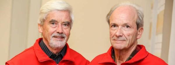 Siegfried und Horst Penetti sind seit 50 Jahren beim DRK Dorndorf. Fotograf: Dave Stonies
