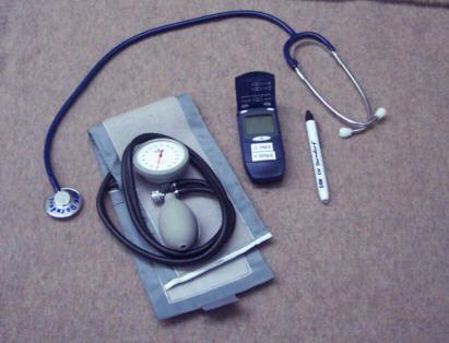 Blutdruck- und Blutzuckermessgeräte