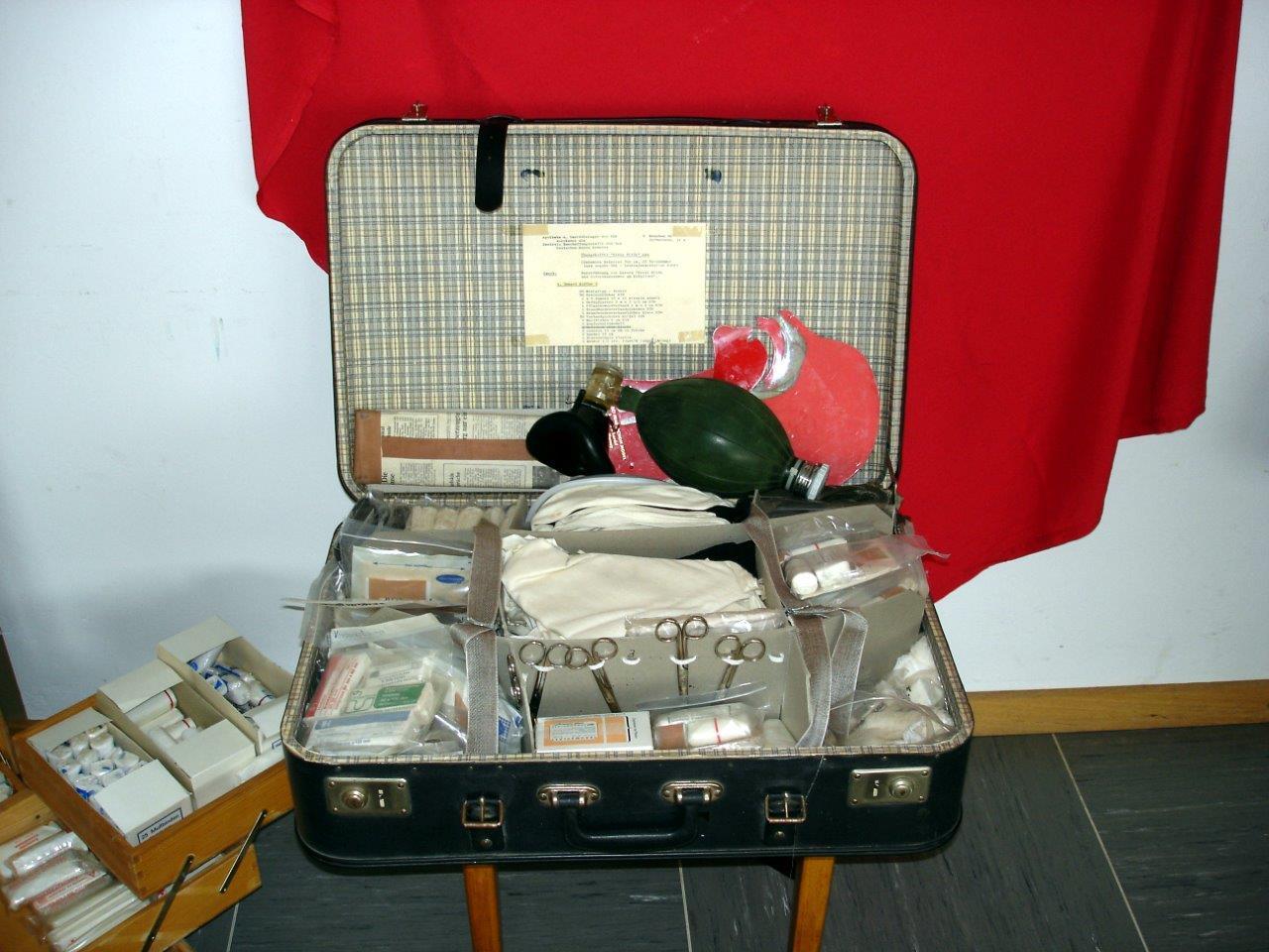 Ausrüstung zur Gründungszeit des Ortsvereins Dorndorf