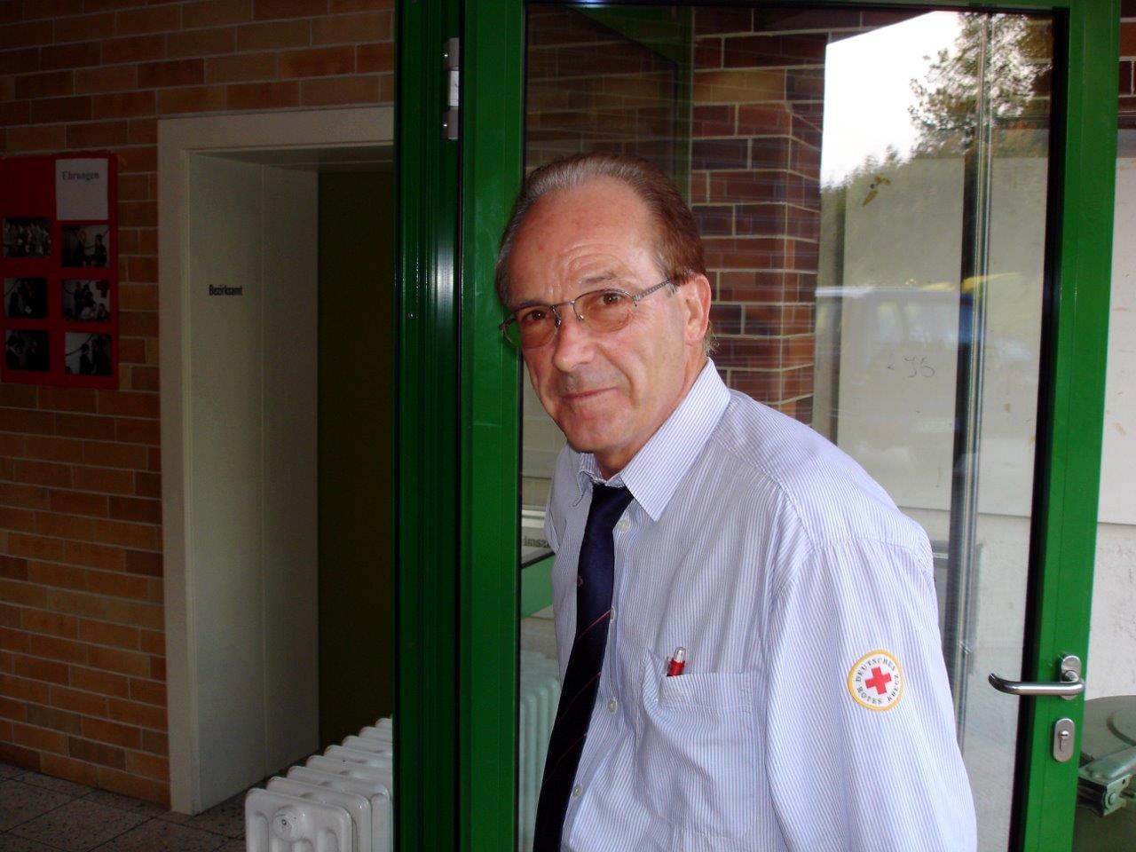 unser ehemaligerBereitschaftsleiter Siegfried