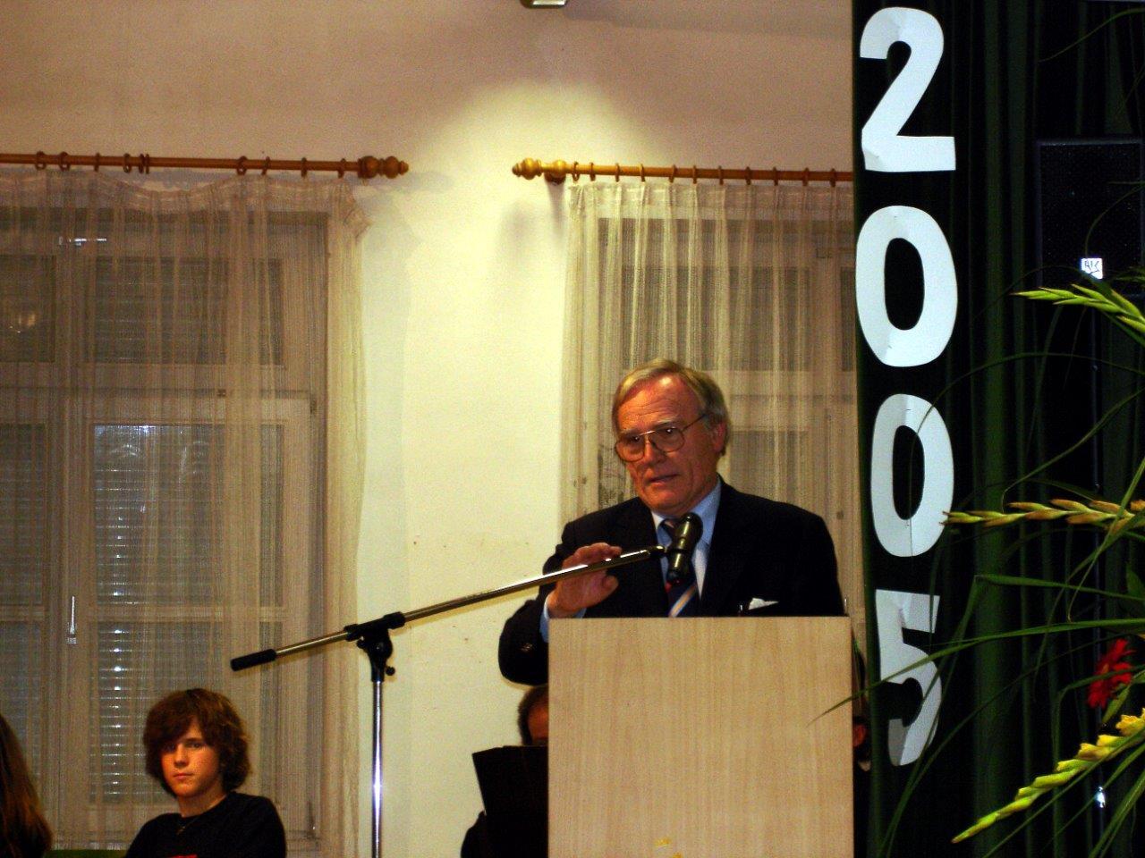 Ansprache von Dr. Götz Hartzng - Vorsitzender des DRK-Kreisverbands Ulm