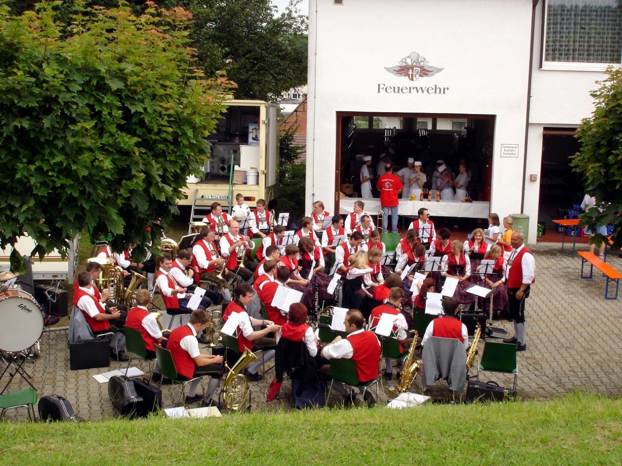 Der Musikverein Illerriden sorgte für die musikalische Unterhaltung.