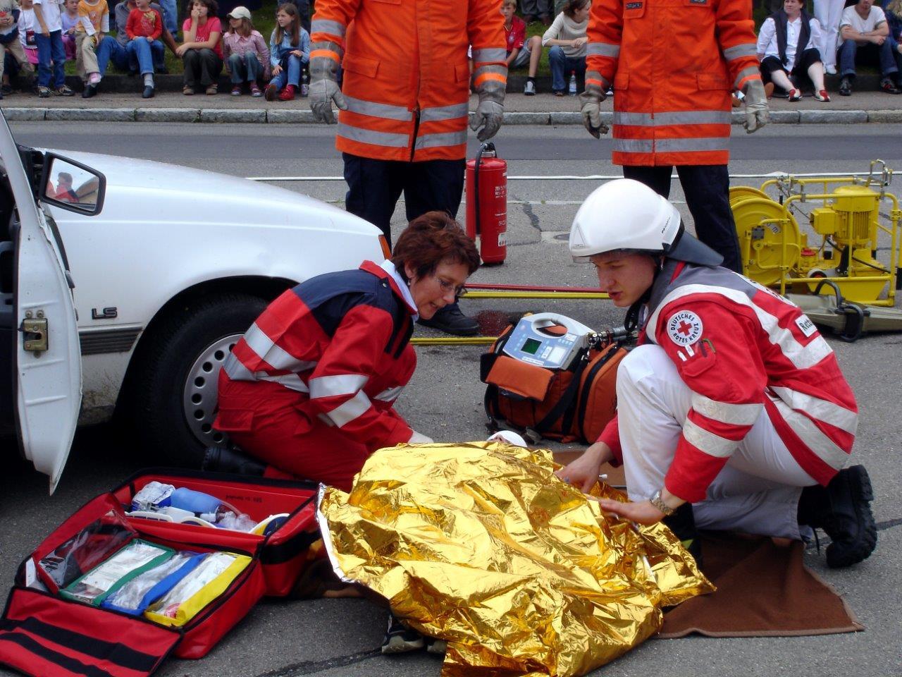 Erstversorgung des Verletzten