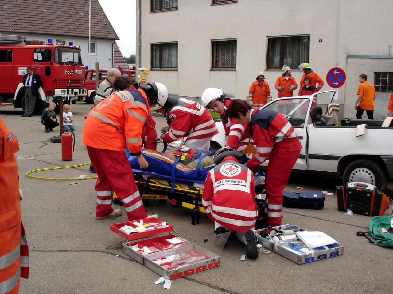 Bergung des Verletzten
