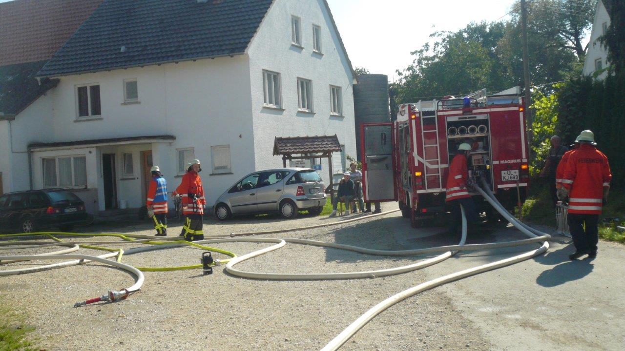 Löschzug der Feuerwehr
