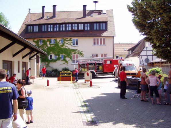 Infotag der freiwilligen Feuerwehr Illerrieden